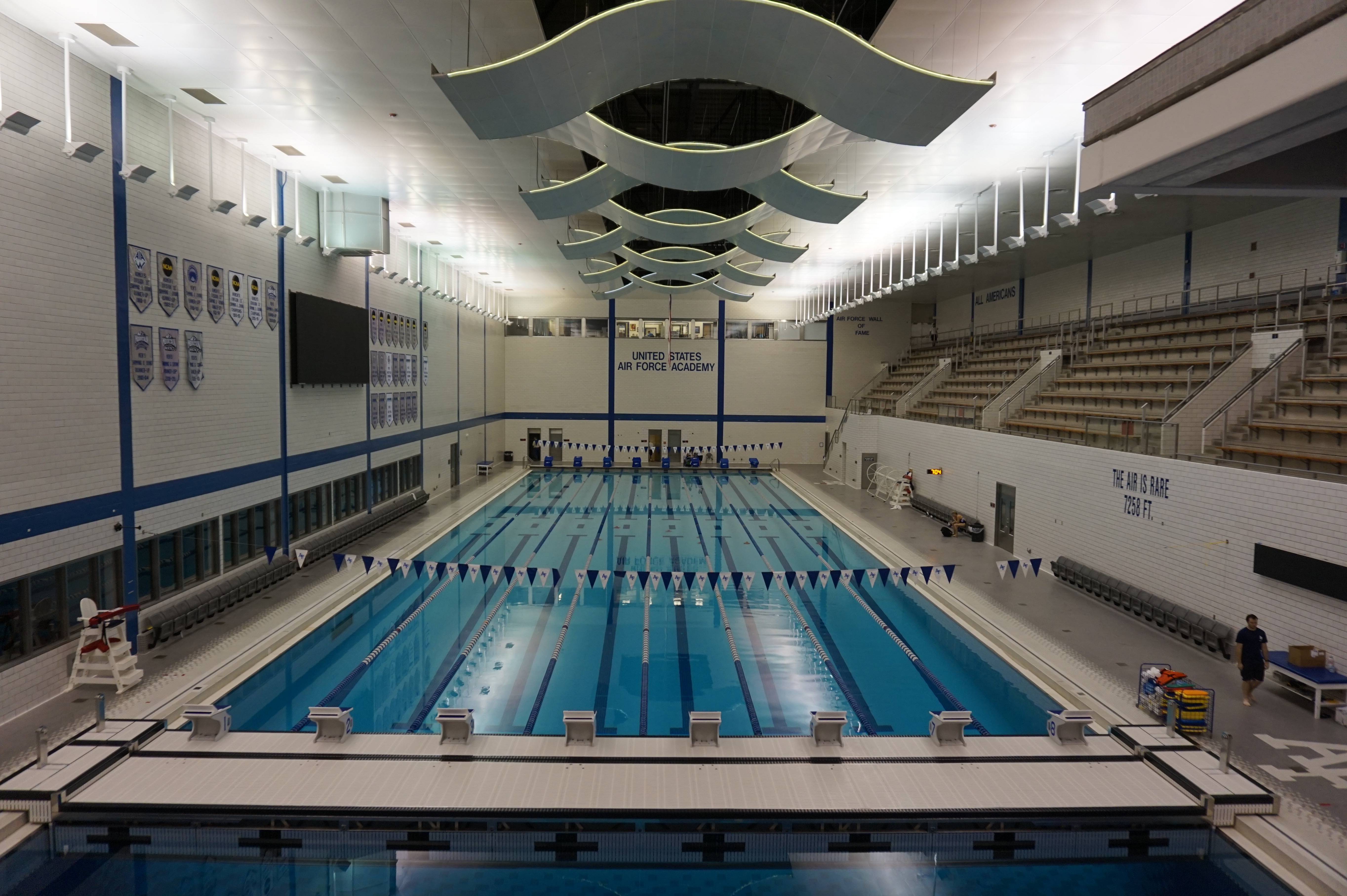 U S Air Force Academy Facilities Collegeswimming