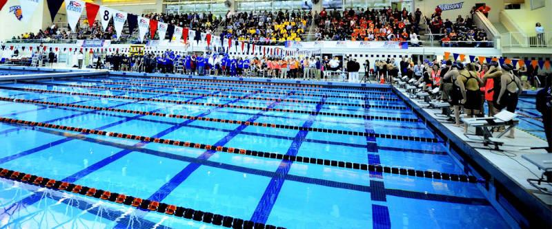 Kinney natatorium in the kenneth langone athletics - Bucknell university swimming pool ...