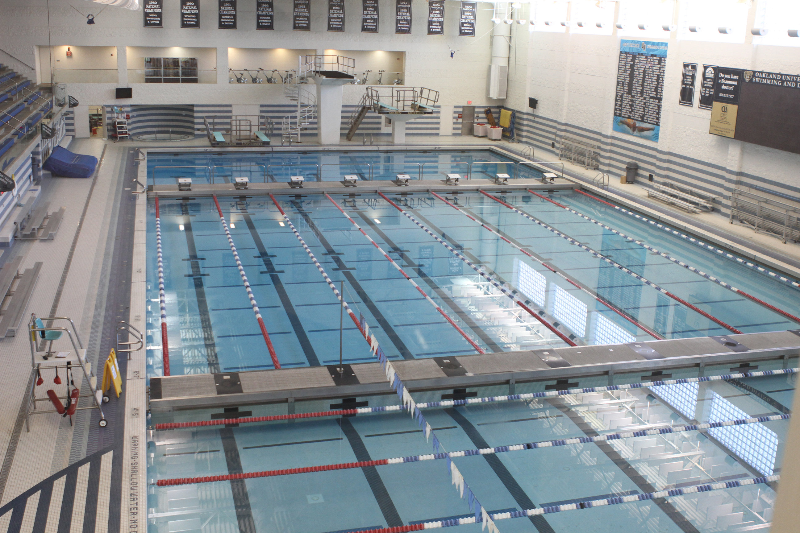 Oakland University Facilities Collegeswimming