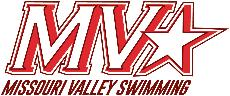 Missouri Valley Swimming logo