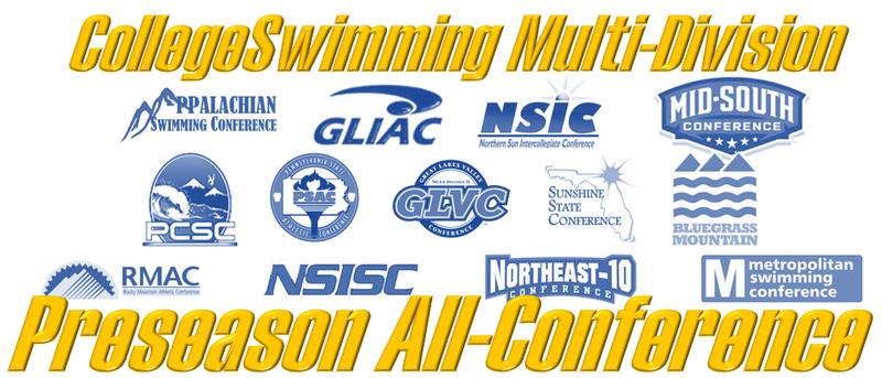 Division II / NAIA Preseason Conference Selections