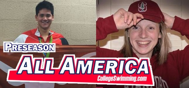 Ledecky, Schooling Headline Preseason All-Americans