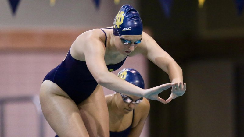 Abbie Dolan Sets Pool Record as Notre Dame Downs Purdue, Rutgers, Miami
