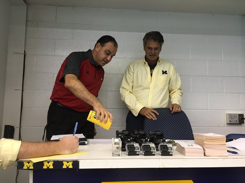 Michigan Sweeps Louisville in Unorthodox Meet