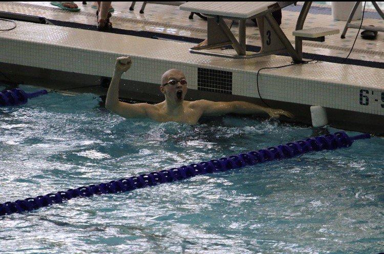 Maximillian Thomas Collegeswimming