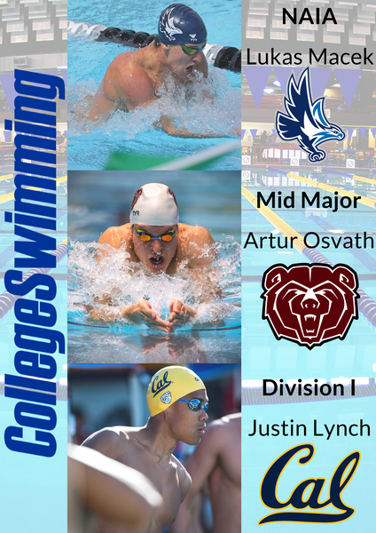 Swimmers of the Week - March 5th