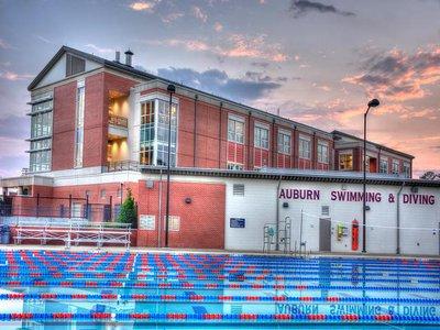 Outdoor Pool at James E. Martin Aquatics Center.